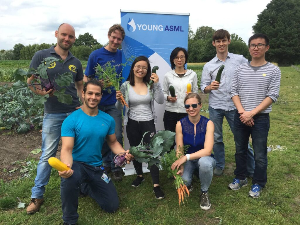 ASML Young Professionals groep Stadsakkers