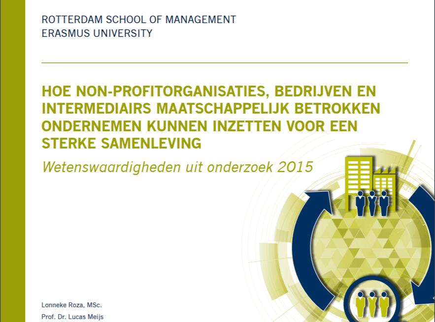 Wetenswaardigheden uit onderzoek 2015, door Lonneke Roza MSc. en Prof. Dr. Lucas Meijs